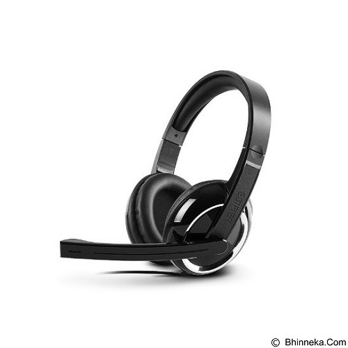 EDIFIER Headphone With Mic [K820] - Black - Headphone Full Size