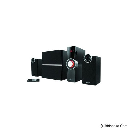 EDIFIER Multimedia Speaker 2.1 [C2XD] - Black (Merchant) - Speaker Computer Performance 2.1