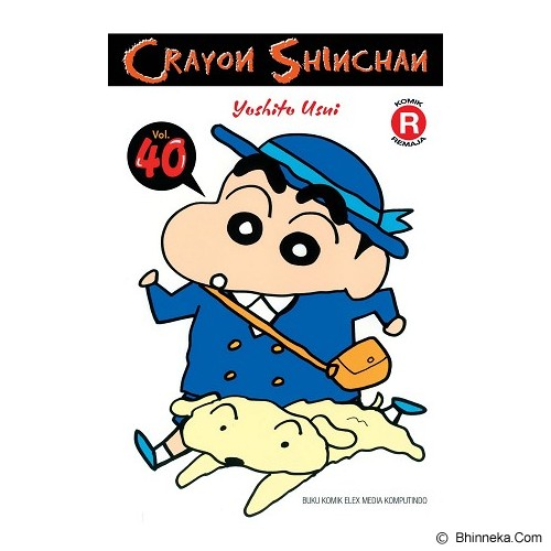 ELEX MEDIA KOMPUTINDO Crayon Shinchan Vol. 40 - Craft and Hobby Book