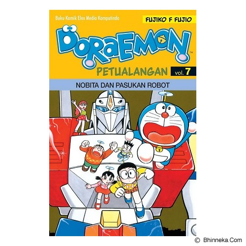 ELEX MEDIA KOMPUTINDO Doraemon Petualangan Vol. 07 - Craft and Hobby Book