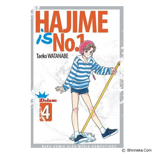 ELEX MEDIA KOMPUTINDO Hajime Is No.1 Vol.4 - Craft and Hobby Book