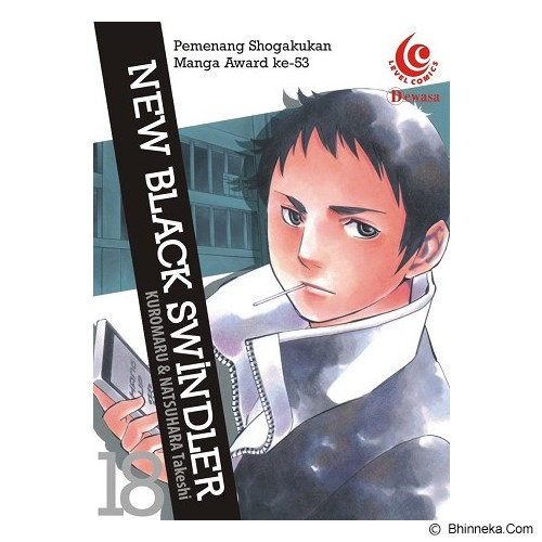 ELEX MEDIA KOMPUTINDO New Black Swindler Vol. 18 - Craft and Hobby Book