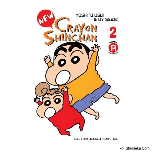 ELEX MEDIA KOMPUTINDO New Crayon Shinchan Vol. 02 - Craft and Hobby Book