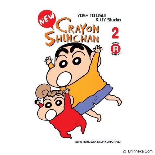 ELEX MEDIA KOMPUTINDO New Crayon Shinchan Vol. 02 - Craft and Hobby Book