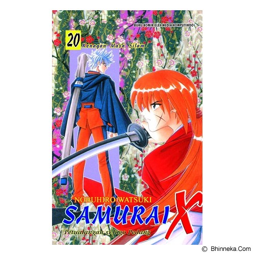 ELEX MEDIA KOMPUTINDO Samurai X Vol. 20 - Craft and Hobby Book