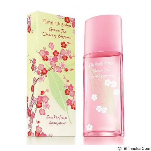 ELIZABETH ARDEN Green Tea Cherry Blossom EDT 100 ml (Merchant) - Eau De Toilette untuk Wanita