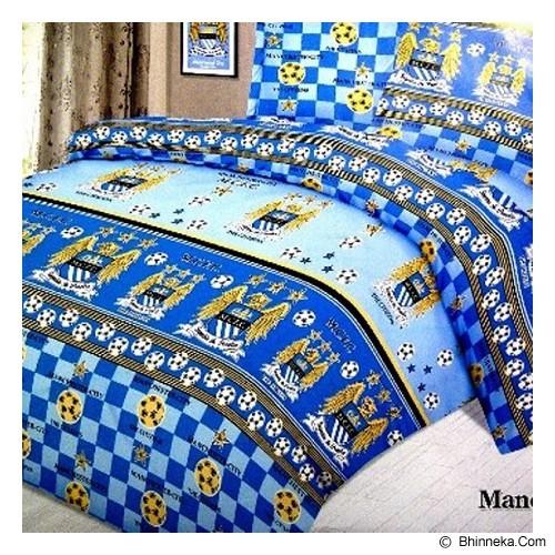 ELLENOV SPREI BAHAN KATUN Manchester City Extra King Size - Seprai & Handuk
