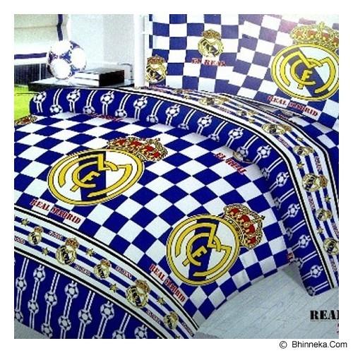 ELLENOV SPREI BAHAN KATUN Real Madrid Single Size - Seprai & Handuk