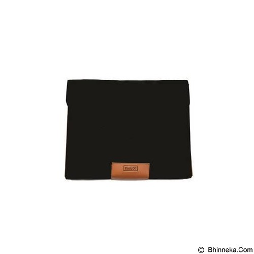 EMICOO Gripping Envelope 15.6 Inch - Elegant Black - Notebook Sleeve