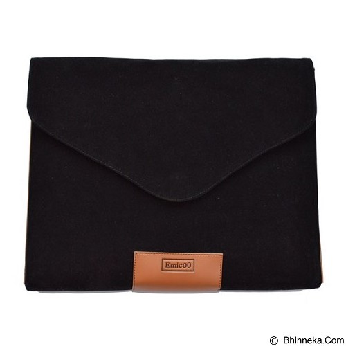 EMICOO Laptop Sleeve 11 Inch - Elegant Black (Merchant) - Notebook Sleeve