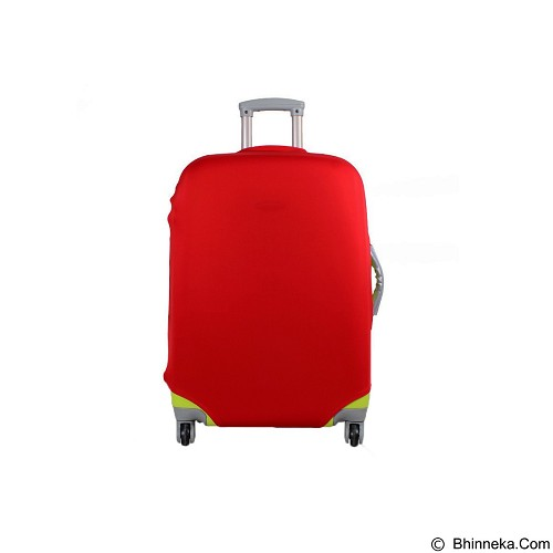EMPIRE Luggage Cover Protector Elastic Suitcase Size XL - Red (Merchant) - Cover Bag / Pelindung Tas