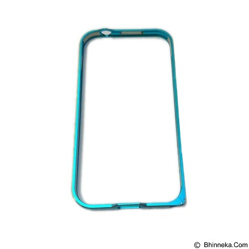 EMPIRE Bumper Metal External Case Samsung Galaxy E5 - Blue (Merchant) - Casing Handphone / Case