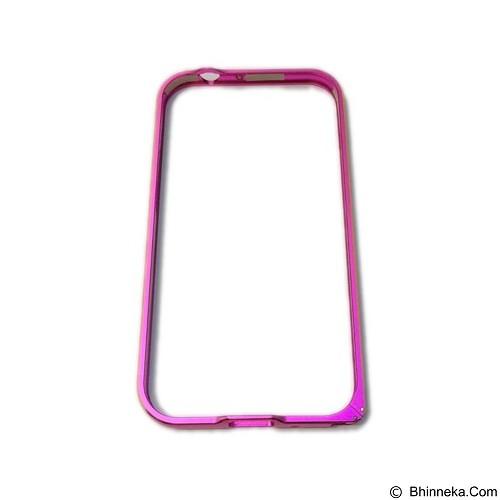 EMPIRE Bumper Metal External Case Samsung Galaxy E5 - Pink (Merchant) - Casing Handphone / Case