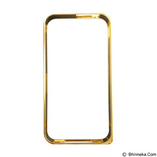 EMPIRE Bumper Metal External Case Samsung Galaxy S6 Edge - Gold (Merchant) - Casing Handphone / Case