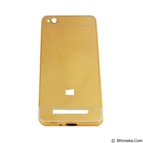 EMPIRE Bumper Sliding for Xiaomi Redmi 3 Aluminum with Sliding Mirror - Gold (Merchant) - Casing Handphone / Case