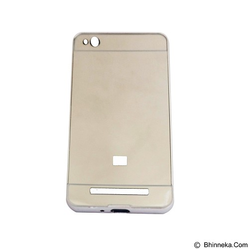 EMPIRE Bumper Sliding for Xiaomi Redmi 3 Aluminum with Sliding Mirror - Silver (Merchant) - Casing Handphone / Case