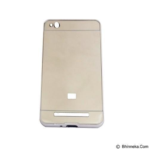 EMPIRE Bumper Sliding for Xiaomi Redmi 3 Aluminum with Sliding Mirror - Silver (Merchant) - Casing Handphone / Case