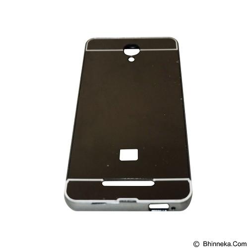 EMPIRE Bumper Sliding for Xiaomi Redmi Note 2 Aluminum with Sliding Mirror - Black (Merchant) - Casing Handphone / Case