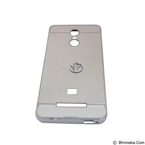 EMPIRE Bumper Sliding for Xiaomi Redmi Note 2 Aluminum with Sliding Mirror - Silver (Merchant) - Casing Handphone / Case
