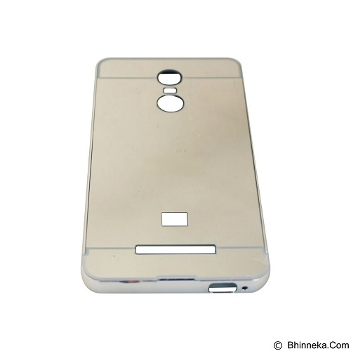EMPIRE Bumper Sliding for Xiaomi Redmi Note 3 Aluminum with Sliding Mirror - Silver (Merchant) - Casing Handphone / Case