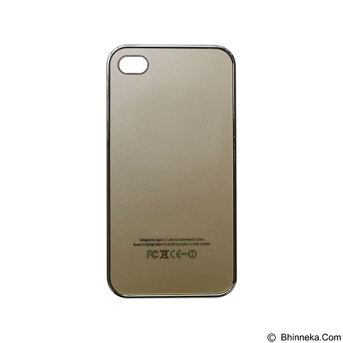 EMPIRE Hardcase Metalic Glossy Apple iPhone 4G/4s - Gold (Merchant) - Casing Handphone / Case