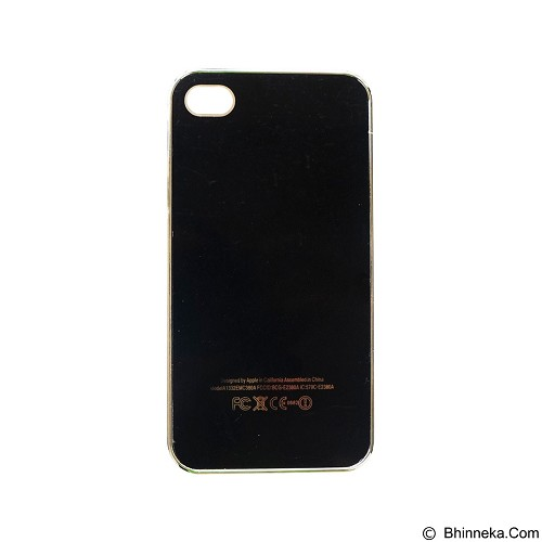 EMPIRE Hardcase Metalic Glossy Apple iPhone 5G / 5s / 5SE - Black (Merchant) - Casing Handphone / Case