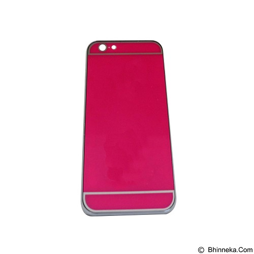 EMPIRE Hardcase Metalic Glossy Apple iPhone 6G/ 6s - Pink (Merchant) - Casing Handphone / Case