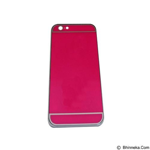 EMPIRE Hardcase Metalic Glossy Apple iPhone 6G/ 6s - Pink (Merchant) - Casing Handphone / Case