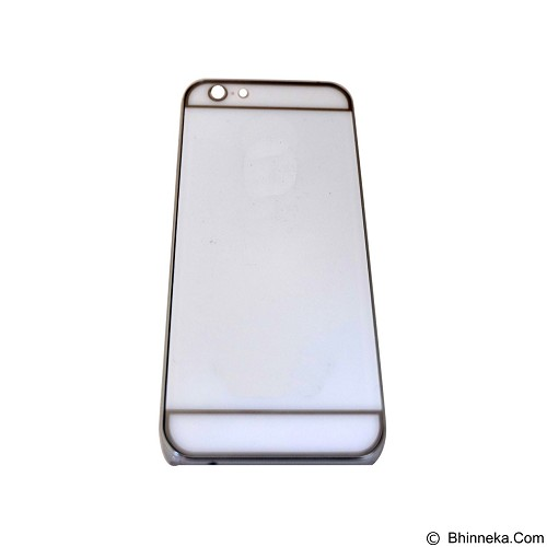 EMPIRE Hardcase Metalic Glossy Apple iPhone 6G/ 6s - White (Merchant) - Casing Handphone / Case