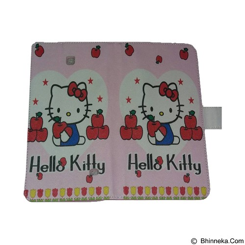 EMPIRE Leather Case Samsung Galaxy Tab 4.8 T330 Character Hellokitty 10 (Merchant) - Casing Tablet / Case