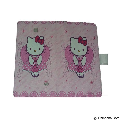 EMPIRE Leather Case Samsung Tab 4.7 T230 Character Hellokitty 3 (Merchant) - Casing Tablet / Case