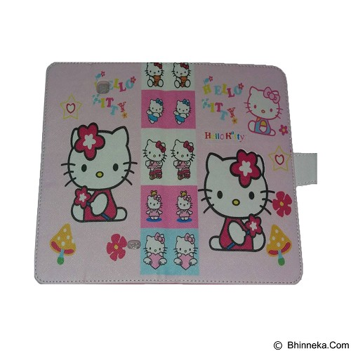 EMPIRE Leather Case Samsung Tab 4.7 T230 Character Hellokitty 5 (Merchant) - Casing Tablet / Case
