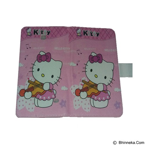 EMPIRE Leather Case Samsung Tab 4.7 T230 Character Hellokitty 8 (Merchant) - Casing Tablet / Case