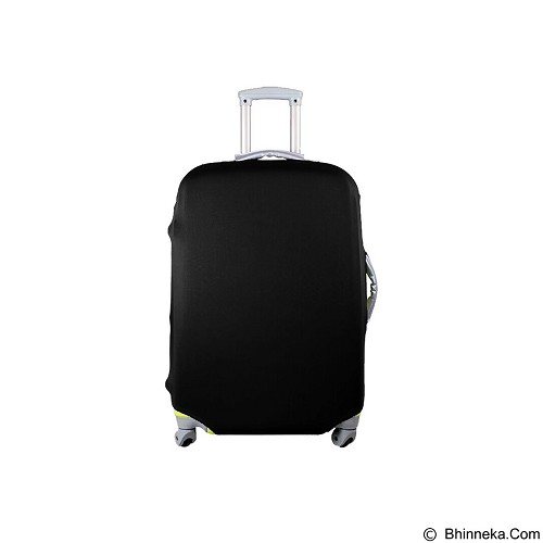 EMPIRE Luggage Cover Protector Elastic Suitcase Size M - Black (Merchant) - Cover Bag / Pelindung Tas
