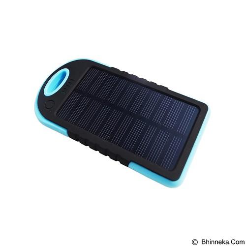 EMPIRE Powerbank Solar 5000mAh - Blue (Merchant) - Portable Charger / Power Bank