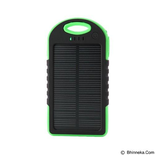 EMPIRE Powerbank Tenaga Surya 5000mAh - Green (Merchant) - Portable Charger / Power Bank