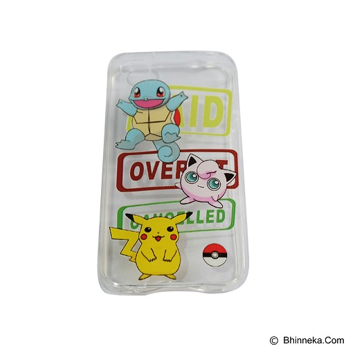 EMPIRE Silicone Casing for Apple iPhone 4G/4S Edition Pokemon 1 (Merchant) - Casing Handphone / Case