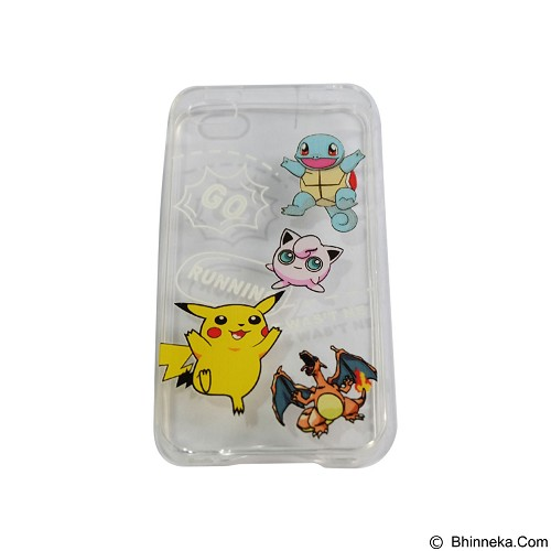 EMPIRE Silicone Casing for Apple iPhone 4G/4S Edition Pokemon 6 (Merchant) - Casing Handphone / Case