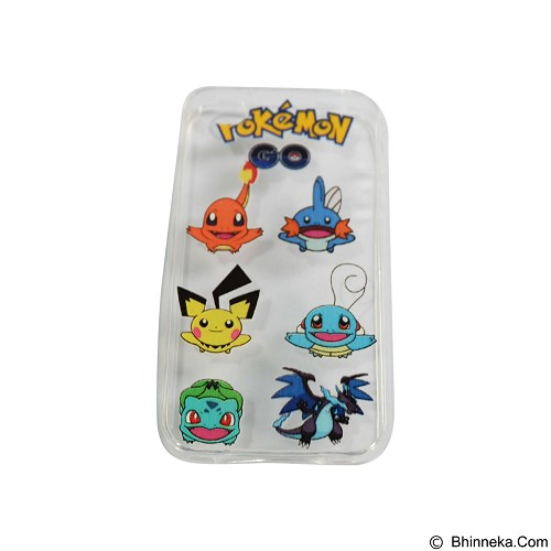 EMPIRE Silicone Casing for Apple iPhone 4G/4S Edition Pokemon 7 (Merchant) - Casing Handphone / Case