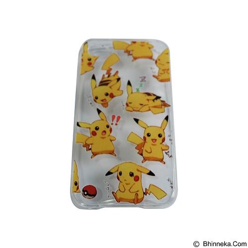 EMPIRE Silicone Casing for Apple iPhone 5G/5S/5SE Edition Pokemon 4 (Merchant) - Casing Handphone / Case