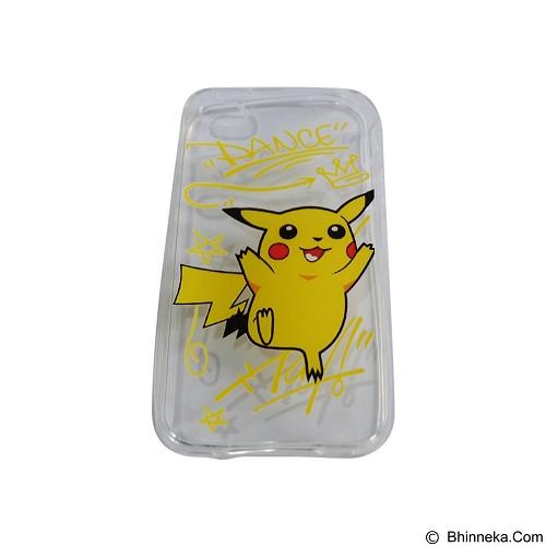EMPIRE Silicone Casing for Apple iPhone 5G/5S/5SE Edition Pokemon 9 (Merchant) - Casing Handphone / Case