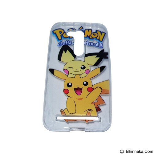 EMPIRE Silicone Casing for Asus Zenfone Go 4.5 Inch ZB452KG Edition Pokemon 4 (Merchant) - Casing Handphone / Case