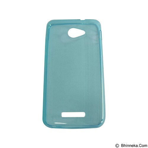 EMPIRE UltraThin Softcase for Smartfren Andromax A - Blue (Merchant) - Casing Handphone / Case