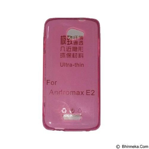 EMPIRE UltraThin Softcase for Smartfren Andromax E2 - Pink (Merchant) - Casing Handphone / Case
