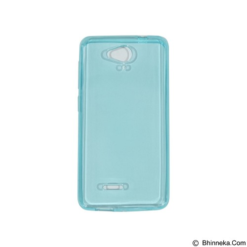 EMPIRE UltraThin Softcase for Smartfren Andromax E2 Plus - Blue (Merchant) - Casing Handphone / Case