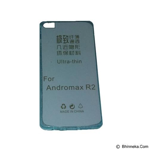 EMPIRE UltraThin Softcase for Smartfren Andromax R2 - Blue (Merchant) - Casing Handphone / Case