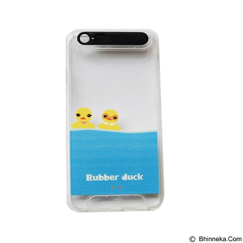 EMPIRE Ultrathin Happy Duck Glow in Dark with Flash Led Flash On Apple iPhone 5/5s/5SE (Merchant) - Casing Handphone / Case