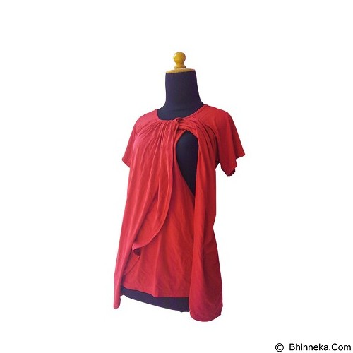ENDANG THE VILLAGE PRODUCT Keisha 01 - Red (Merchant) - Kaos Wanita