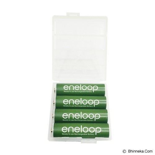 PANASONIC Eneloop A2 BP4 Soft Color - Dark Green - Battery and Rechargeable