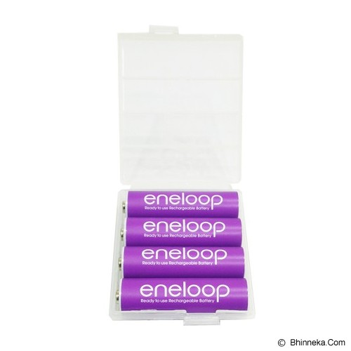PANASONIC Eneloop A2 BP4 Soft Color - Purple - Battery and Rechargeable